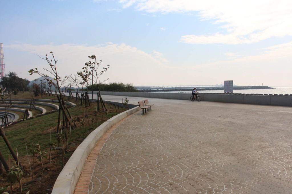 1071116茄萣海岸整治工程完工-通稿01